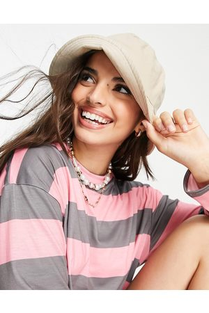 Accessorize Women Hats - Bucket hat in natural eco cotton