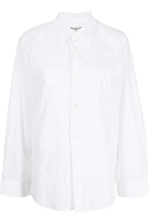 Comme des Garçons Women Long Sleeve - Classic collar shirt