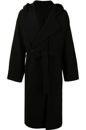 SONGZIO Hooded belted coat