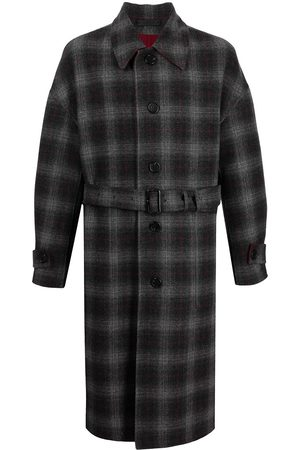 SONGZIO Checked trench coat