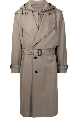 SONGZIO Trench Coats - Signature hood trench coat