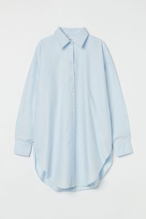 H&M Women Long Sleeve - Long Oxford shirt