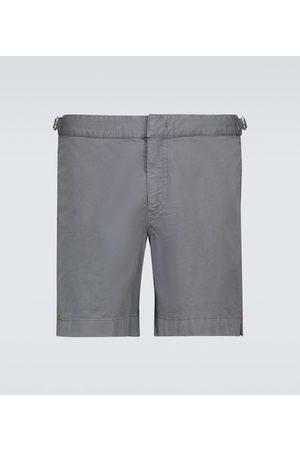 Orlebar Brown Bulldog Ando cotton-twill shorts