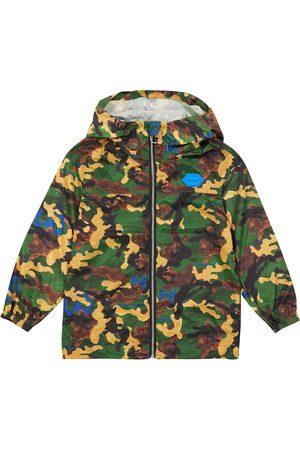 OFF-WHITE Boys Jackets - Camouflage hooded jacket
