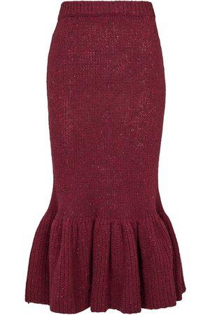 Marni Women Midi Skirts - Wool knit midi skirt