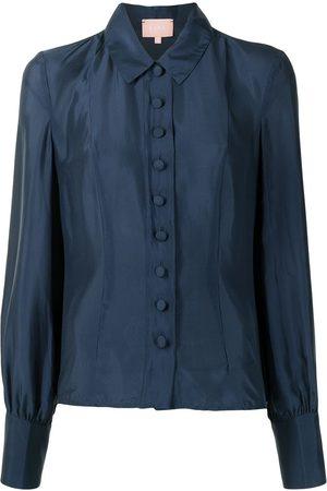 Liya Button down silk shirt