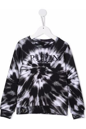 Philipp Plein Tie-dye print sweatshirt