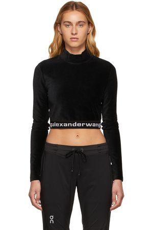 Alexander Wang Women Long Sleeve - Corduroy Long Sleeve Turtleneck