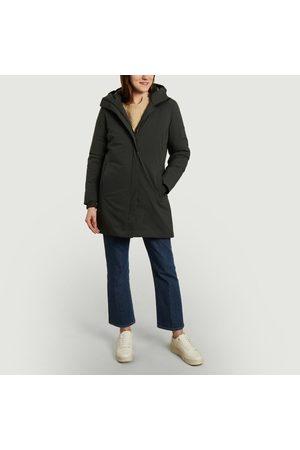 Scandinavian Edition Women Parkas - Parka Coat Grey