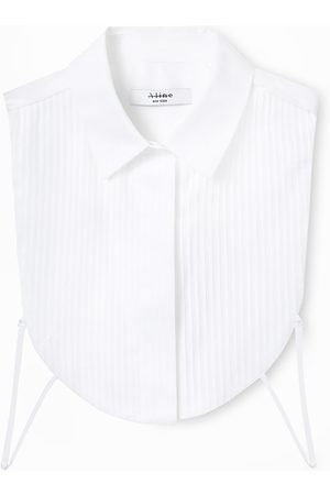 A LINE Pleated-Detail Bib Vest