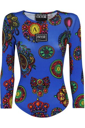 VERSACE Women Polo Shirts - Versace Jeans T-shirts and Polos