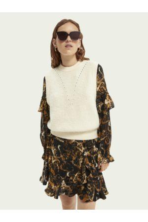 Scotch&Soda Women Tank Tops - Scotch & Soda Fuzzy Sleeveless Sweater