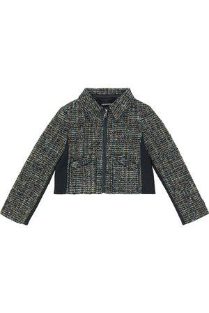 Emporio Armani Cropped bouclé jacket