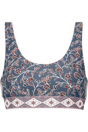 The Upside Sante Fe floral sports bra