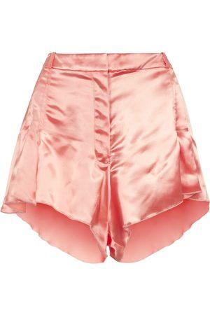 Paco rabanne Satin shorts