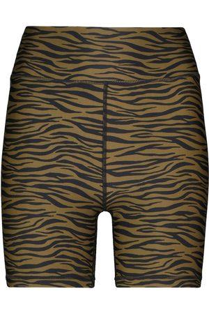 The Upside Malibu Tiger high-rise shorts