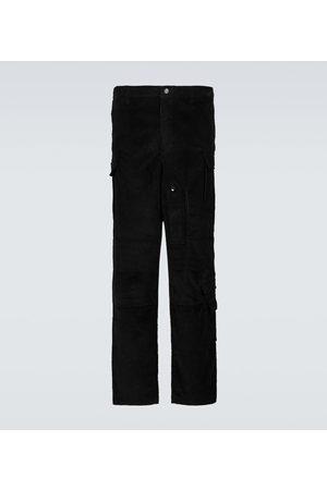 Winnie New York Men Cargo Trousers - Cotton corduroy cargo pants