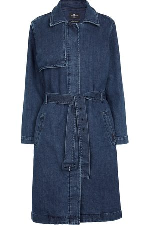7 for all Mankind Ever denim trench coat