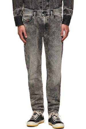 Diesel Men Slim - D-Strukt 9KA Slim Fit Jeans - Mid Faded Grey