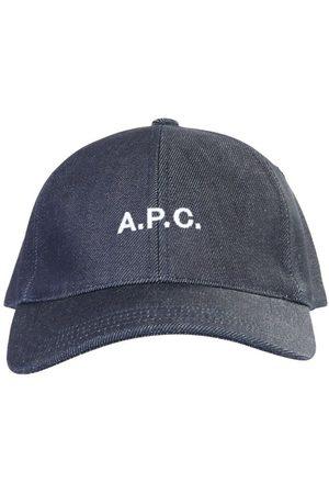 A.P.C. Men Hats - . MEN'S COCSXM24069IAI COTTON HAT