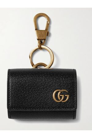 Gucci GG Marmont Full-Grain Leather AirPods Case