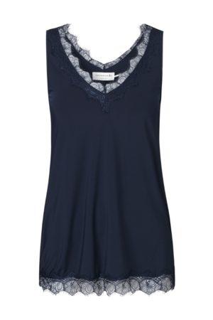 Rosemunde Silk Lace Top Dark Blue 4220 192