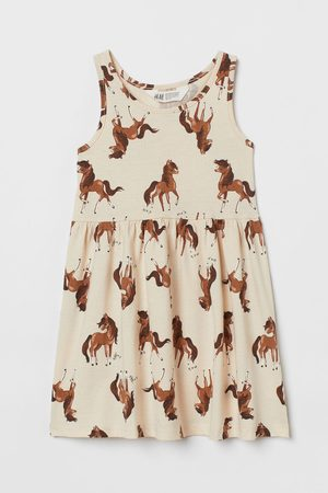 H&M Girls Casual Dresses - Patterned jersey dress