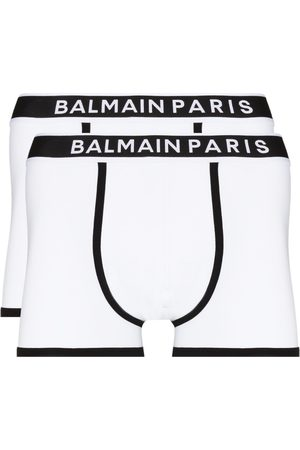Balmain Logo-waistband set of two boxer shorts