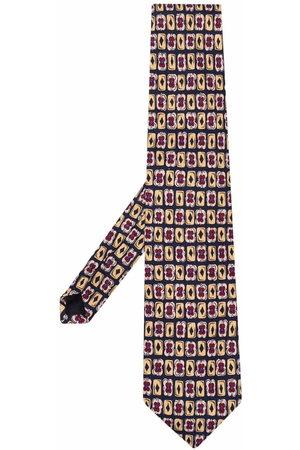Prada 1990s graphic-print silk tie