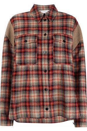 Stella McCartney Check-pattern long-sleeve shirt