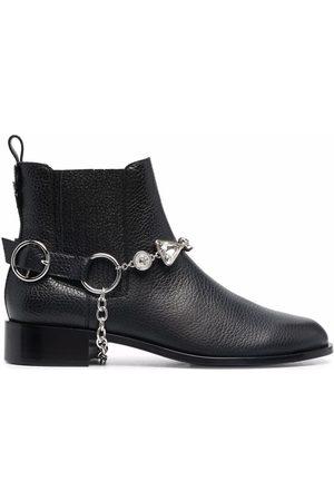 SOPHIA WEBSTER Ankle leather boots