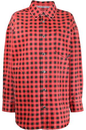 Alexander Wang Check print shirt