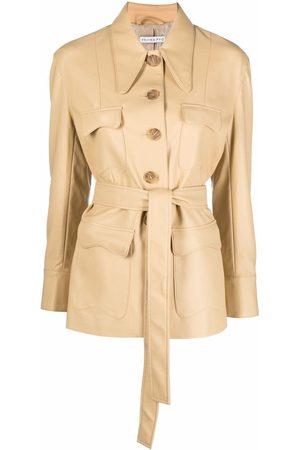REJINA PYO Felix faux leather jacket
