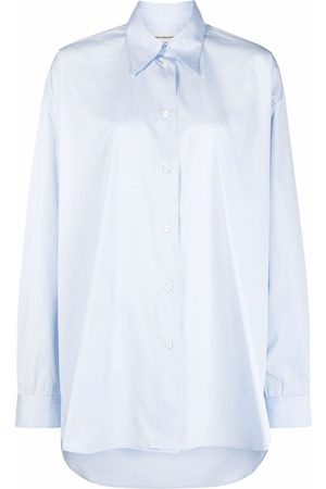 There Was One Oversized poplin long-sleeve shirt