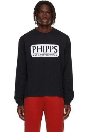 Phipps Men Long Sleeve - Essential Logo Graphic T-Shirt