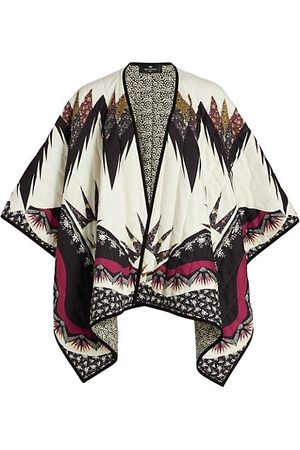 Etro Reversible Quilted Cape
