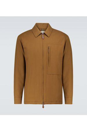 Burberry Hanwell cotton blouson jacket