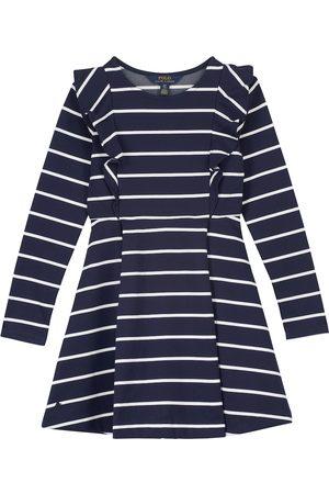 Ralph Lauren Striped stretch-jersey dress