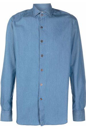 Xacus Denim button-down shirt