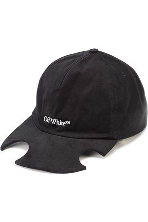 OFF-WHITE Cut-out logo cap