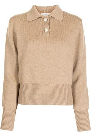 Lee Mathews Fine-knit polo-shirt