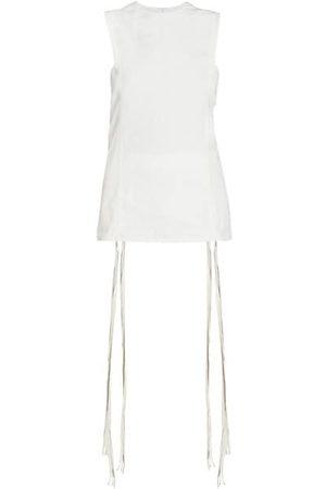 Chloé Linen Sleeveless Tunic Top