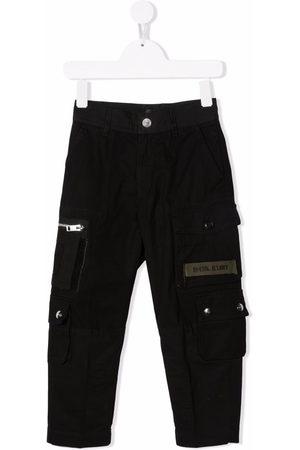 Diesel Logo-patch cargo trousers