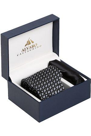 Alvaro Castagnino Men Black & Grey Accessory Gift Set