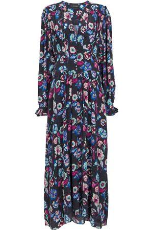 Isabel Marant Moyrazia floral silk midi dress