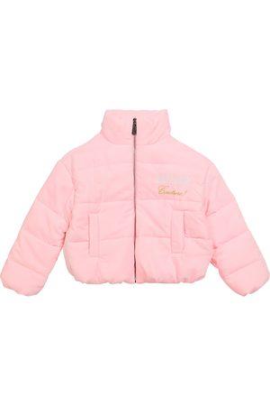 Moschino Girls Jackets - Padded logo jacket