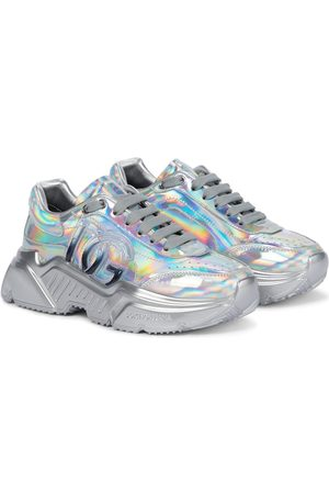 Dolce & Gabbana Daymaster holographic sneakers