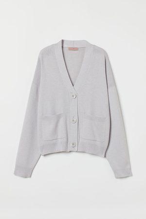 H&M Women Cardigans - Fine-knit cardigan - Grey