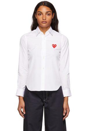 Comme des Garçons Heart Patch Shirt