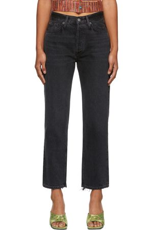 AGOLDE Women Straight - Lana Cropped Vintage Straight Jeans